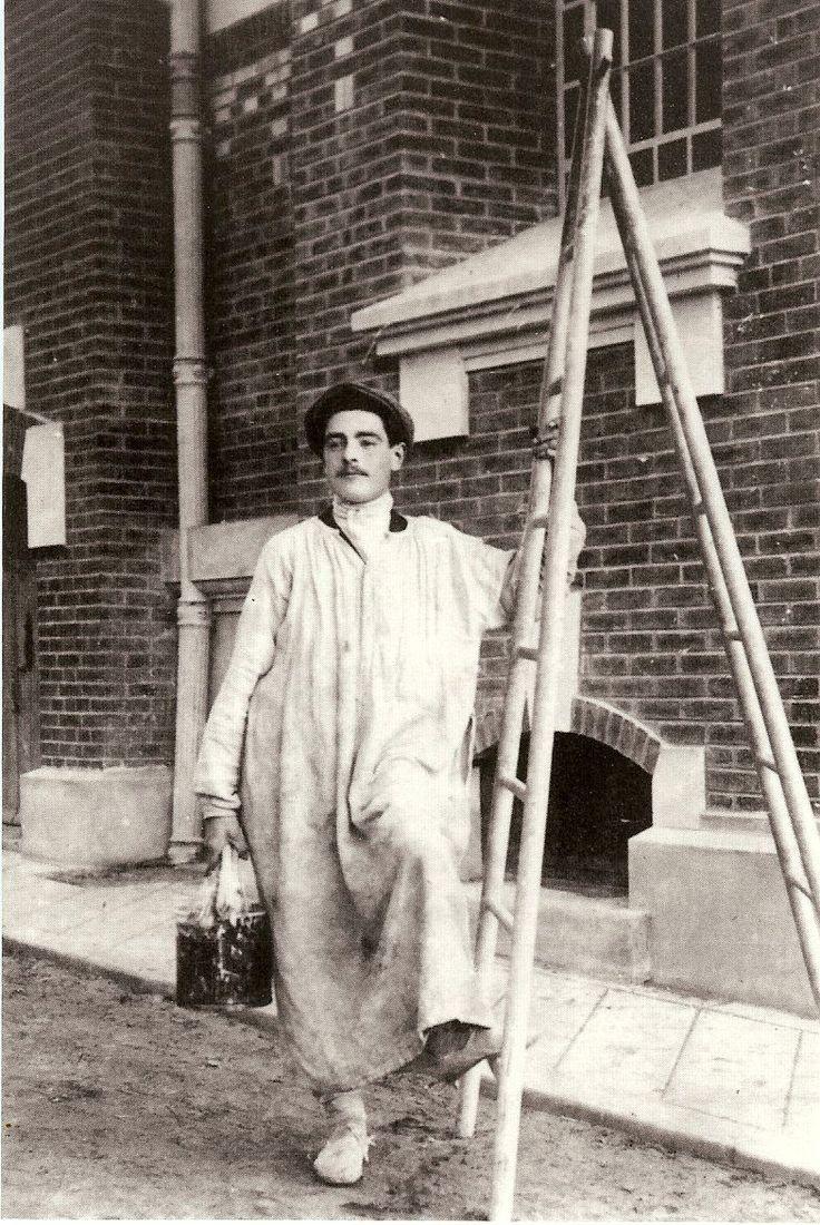 French House Painter, Circa 1920 House painters have come a long way. painters.edu.au #painters
