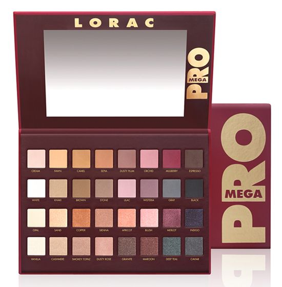 LORAC Royal Collection for Holiday 2014 Mega Pro Palette ($59.00) (Limited Edition) GO PRO with...