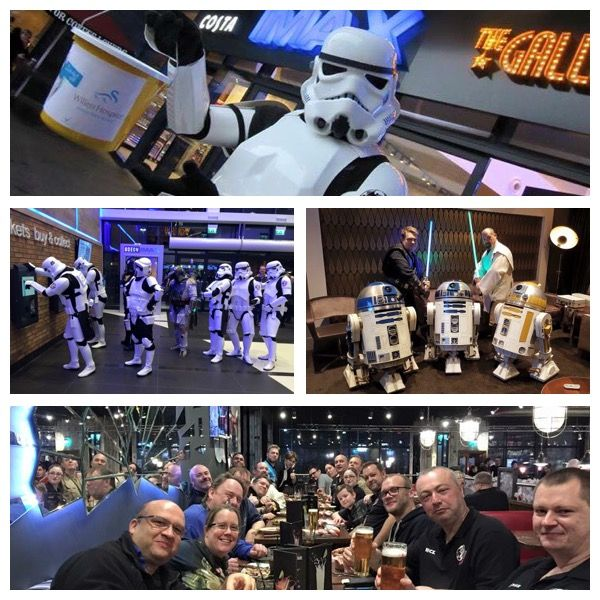 Massive #ThankYou to Joker Squad SWG  They raised a fab £465 by dressing up as characters from Star Wars The Force Awakens and attending the Imax Odeon Milton Keynes #StarWars premier on the 17th December 2015.   #ThankYou and the photos are awesome!