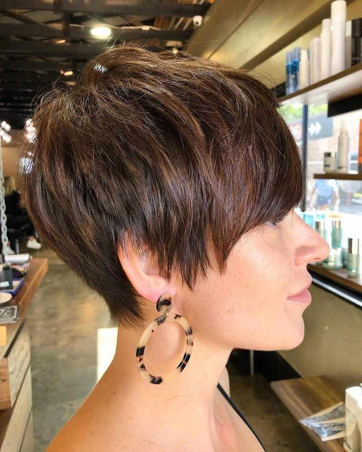 Newest Pixie and Bob Brief Haircuts For Ladies 2019 #PixieHaircuts
