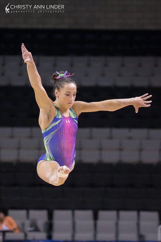 Amelia Hundley (Cincinnati) Podium Training for the 2016 Olympic Trials (x)
