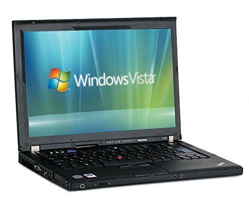 "cool Lenovo ThinkPad T400 Notebook # Intel P8400 Core 2 Duo # 14.1"" WXGA # 2GB RAM # 160GB Festplatte # DVD # WLAN # Generalüberholt und Windows Vista vorinstalliert # Gratis Onda VX 939 MP4 Player"