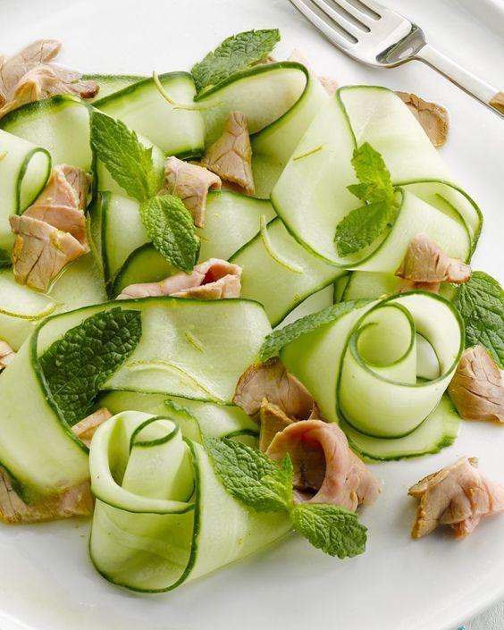 Thaise salade met rosbief - 15gram !