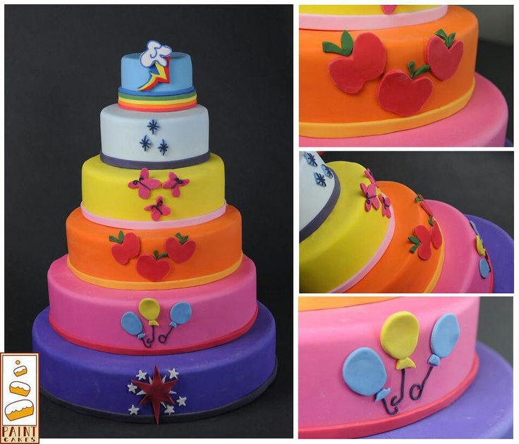 My Little Pony cake...... OMG if I get married to a brony then I will have this as my wedding cake so help me god