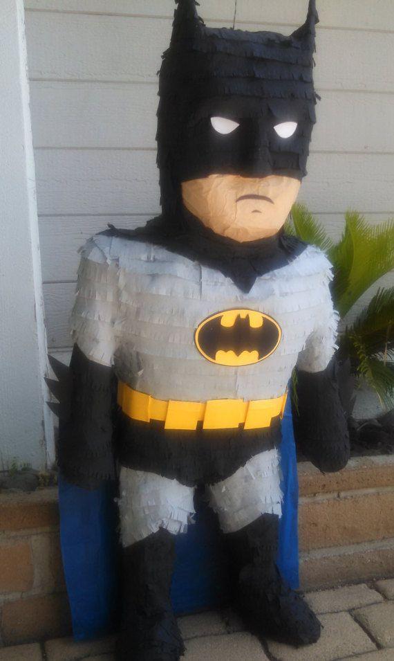 Batman Pinata by SmashingFunCreations on Etsy