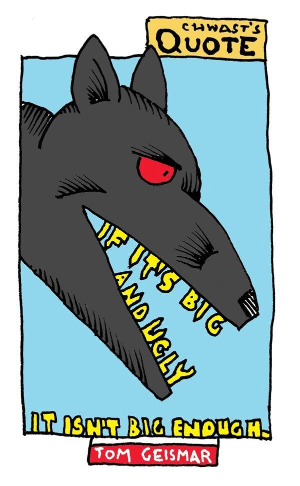 """Tom Geismar by Seymour Chwast (Cue """"Make the Logo Bigger"""""""
