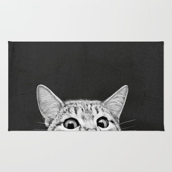 ..curious cat-rug! https://society6.com/product/you-asleep-yet_rug?curator=artgaragefinland … #cats #rugs #homedecor #catlovers @Society6RT @society6home @society6 #CatsOfTwitter #catdecor