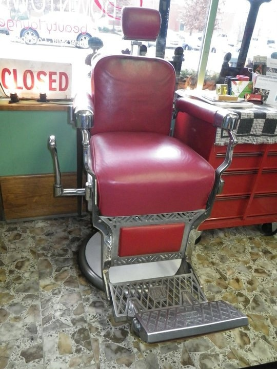 1960 vintage Koken Barber Chair by downtownBeautyLounge on Etsy, $3000.00