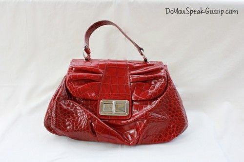 Furla red leather bag in croco look (second hand) FOR SALE ON MY SHOP. Click on the picture to see more photos and details and shop it now! doyouspeakgossip.tictail.com
