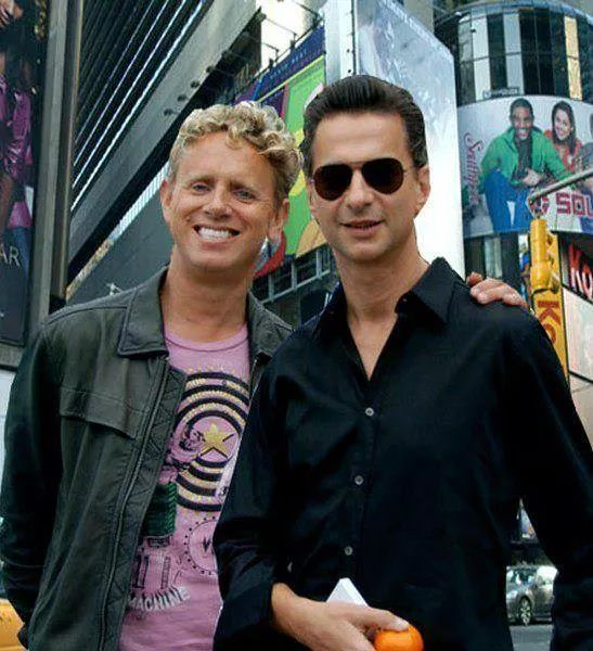 Dave Gahan & Martin Gore of Depeche Mode   I will take either one (or both, no big deal).
