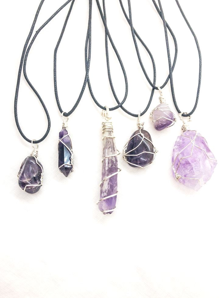 Amethyst macrame  necklace with brass sun charm amethyst crystal pendant spiritual jewelry healing crystal necklace february birthstone