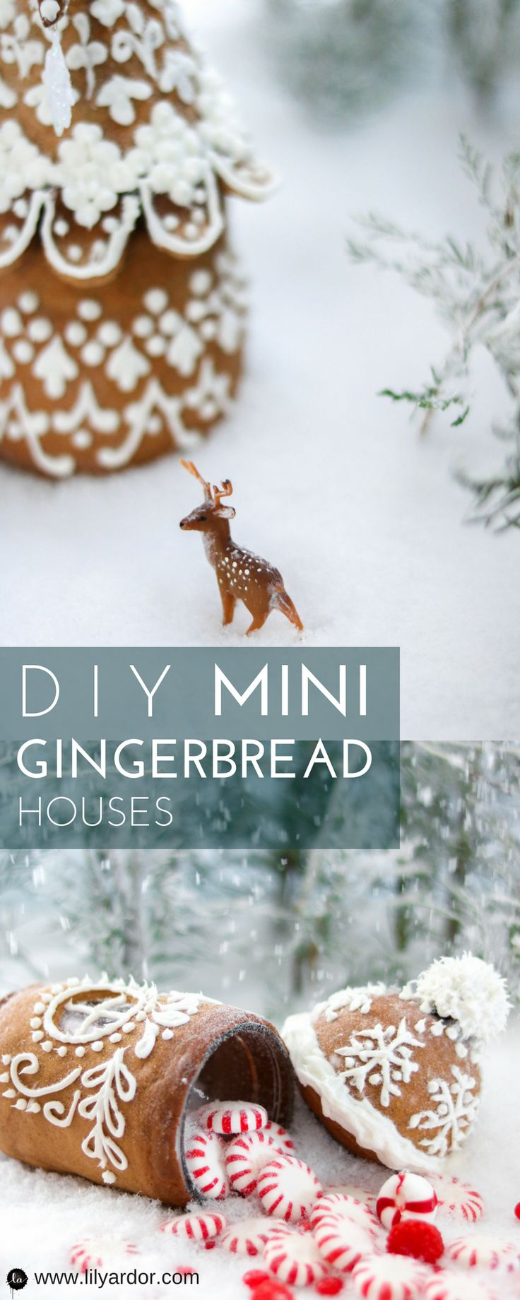 Your kids will decorating these mini gingerbread houses. Check out the easy recipe!