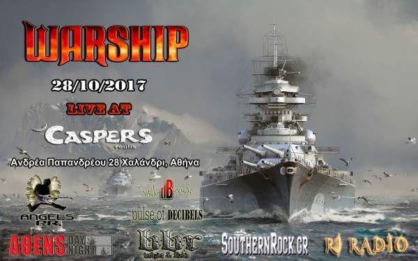 WARSHIP: Σάββατο 28 Οκτωβρίου @ Casper's
