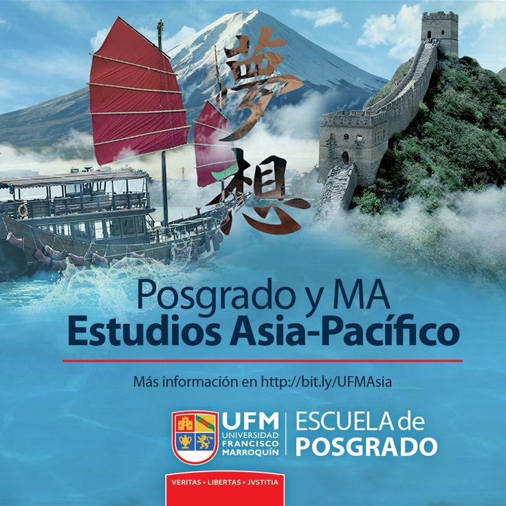 Posgrado / M.A. en Estudios Asia-Pacífico. La mejor inducción en la región más dinámica del siglo XXI.