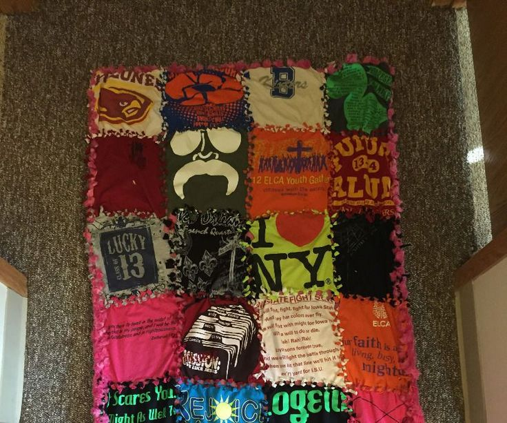 This Instructable will show you how to make a t-shirt blanket without needing a sewing machine. T-shirt blankets are a great way to preserve memories ...