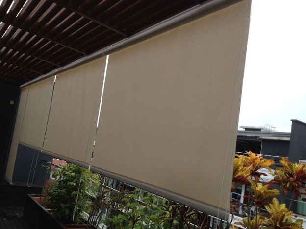 waterproof blinds for balcony singapore - Google Search