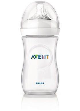 Avent Natural cumisüveg 260ml (lassú átfolyású, természetes kialakitás)