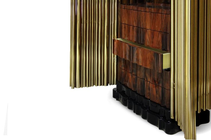 The Symphony Cabinet is inspired by the movement and evolution of music, from the natural flow of sound, to it's various epochs and styles. The perfect tall cabinet to any master bedroom set | Discover more master bedroom ideas: http://masterbedroomideas.eu