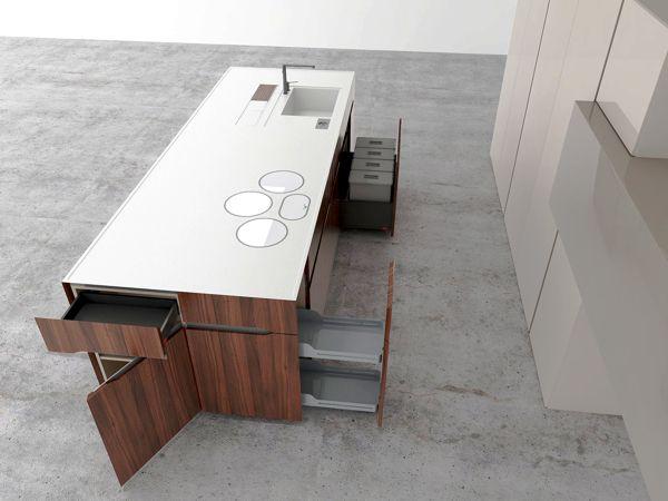 Kitchen concept - final version by Igor Hlišić, via Behance