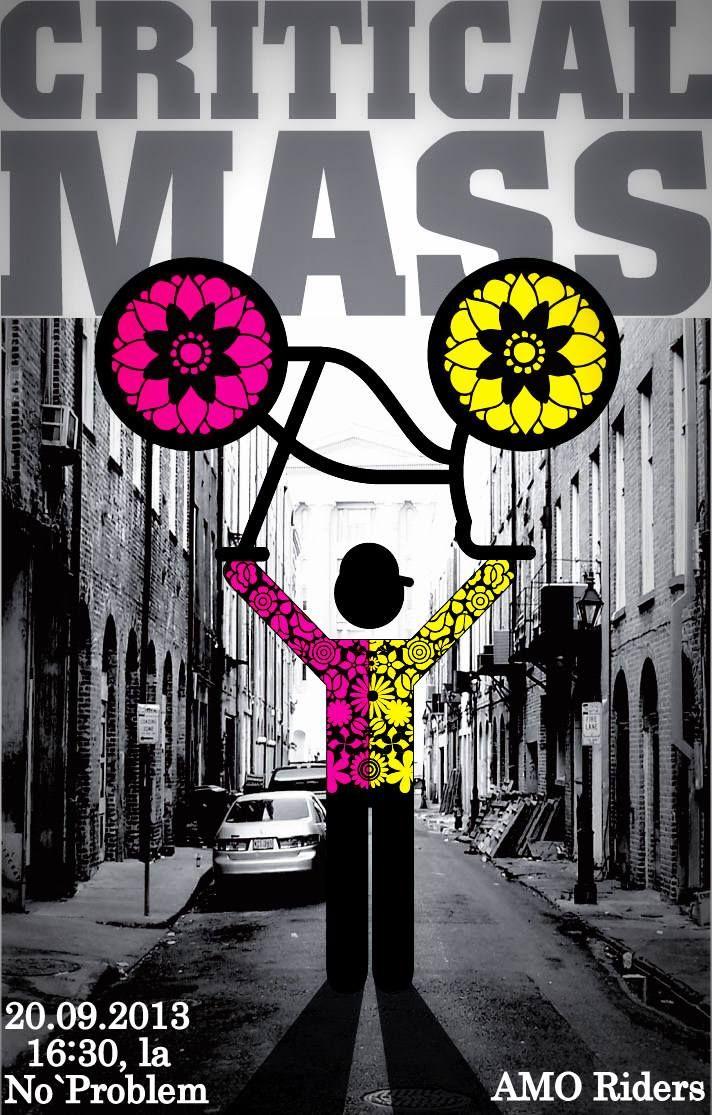 Critical Mass, sau adunarea biciclistilor din Oradea in septembrie 2013 / evenimente Oradea / Felia mea de internet / Oradea, Bihor, Romania