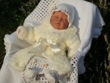 Komplety do chrztu - Letnie marzenie z płaszczykiem zimowym ©