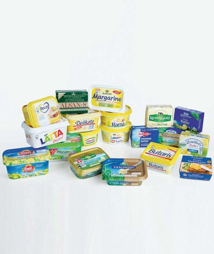 19 STREICHFETTE IM LABORTEST BILD entlarvt den Margarine-Mythos! Ernährungsexperte Sven-David Müller über Transfettsäuren und die Gefahr von Butter fürs Herz