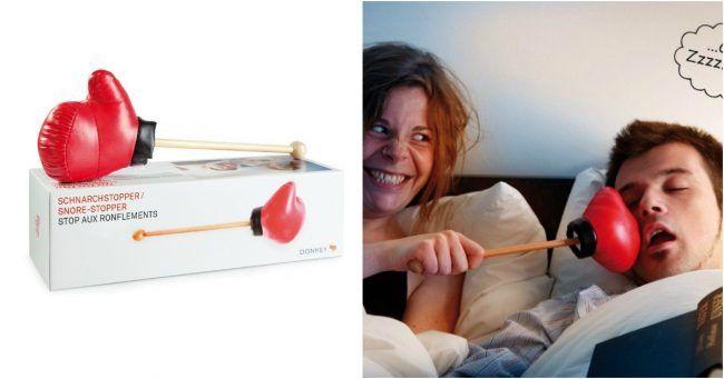 [TOPITRUC] Un gant de box pour que ton partenaire de sommeil arrête (enfin) de ronfler