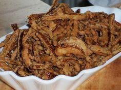 Das Rezept für Röstzwiebeln Selber Machen & andere Rezepte zum Selbermachen inklusive Schritt für Schritt Anleitungen und Bildern bei selber-machen-selbstgemacht.de