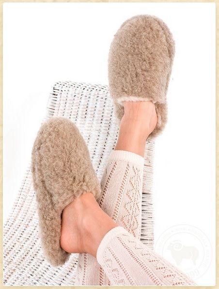 Pantofle Zdrowotne - Wełniane