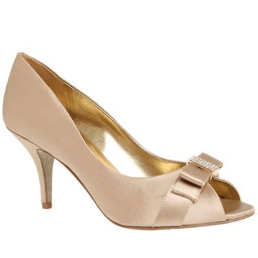 Peep Toes / OLIVA from NineWest.ca  - gold