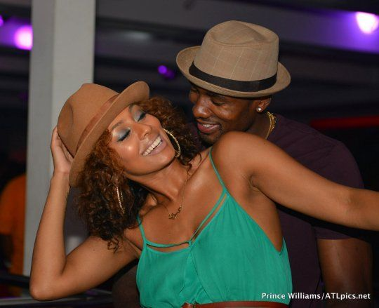 Did Serge Ibaka Put A Ring On It?! Keri Hilson & Her NBA Baller Spotted Cuffin' In The Club