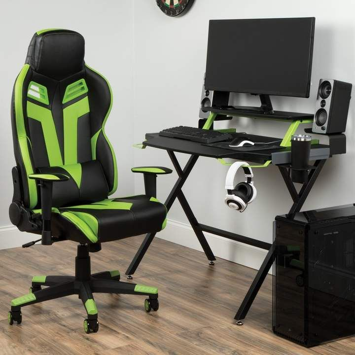 Phenomenal Gaming Desk And Chair Set In 2019 Desk Chair Set Gaming Ibusinesslaw Wood Chair Design Ideas Ibusinesslaworg