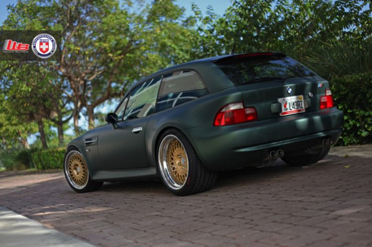 Bmw Z3 M Coupe On Hre Wheels Bmw Roadsters Amp Coupes