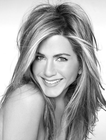 Jennifer Aniston always has the best hair!
