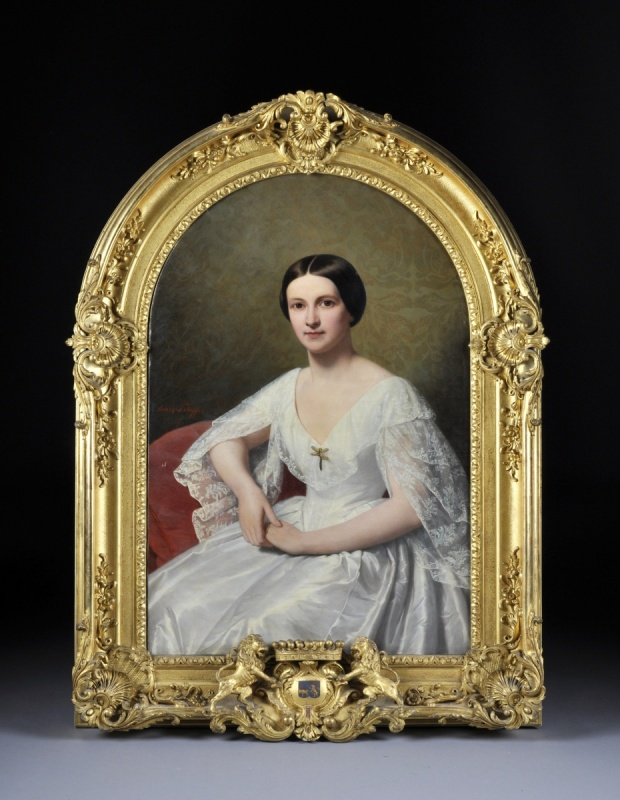 henri scheffer 1798 1862 portrait of marie josephine louise de pas de