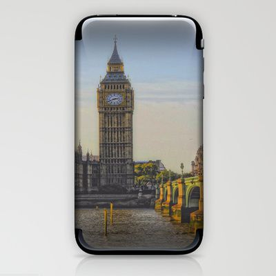 Big Ben iPhone & iPod Skin by AngelEowyn. $15.00