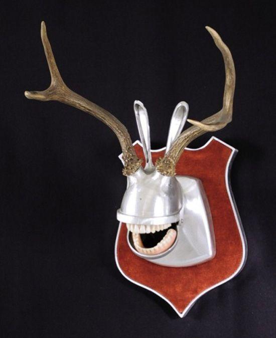 Weird Wonderful Fully Recycled Animal Head Trophies