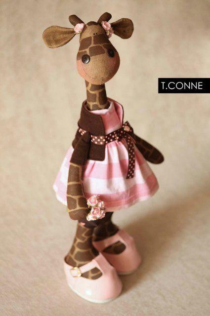 darling giraffe doll - no pattern