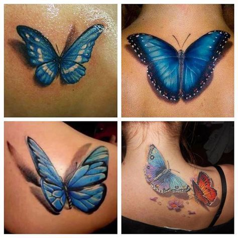 24 best Solid Black Butterfly Tattoo images on Pinterest ... - photo#17