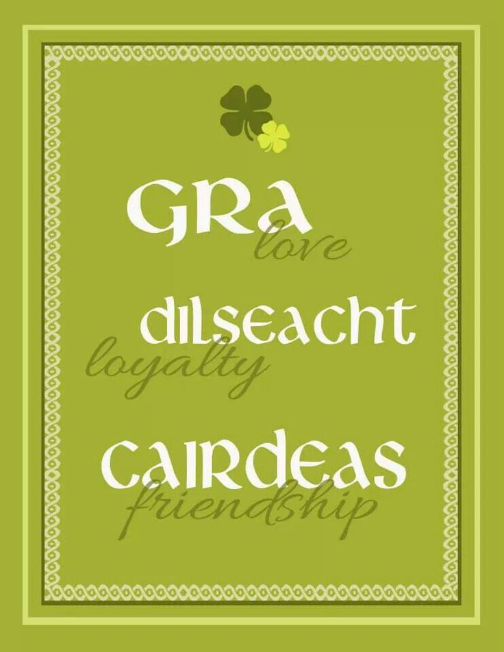Irish translation