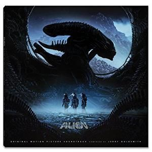 Original Motion Picture Soundtrack (OST) from the movie Alien (1979). Music composed by Jerry Goldsmith and Lionel Newman.    Alien Soundtrack by #JerryGoldsmith #Alien #soundtrack #FilmScores #Vinyl #Score #FilmSoundtracks #RidleyScott