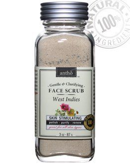 Organic Facial Scrub - Mild Chemical Free - Poppy and Spices by Antho Organic. $17.95. Only USDA certified organic and All Natural ingredients. Chemical free - no detergents, artificial fragrances, preservatives, plastic beads, toxic irritants, etc.. Weight 3 oz / 87 g  Equivalent to at least 6 oz of conventional liquid scrubs based on water & fillers!. Gentle, effective and suitable for all skin types. 40% recycled apothecary glass cube - eco-friendly, luxurious, classy, elegant...