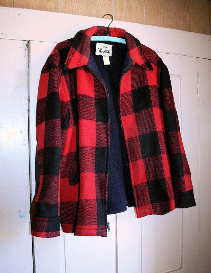Men S Buffalo Plaid Jacket