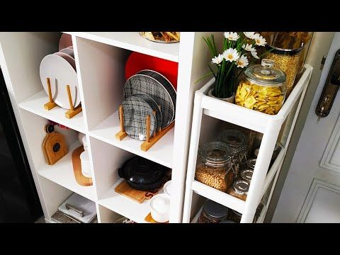 أفكار وحيل ذكية لمطبخك الصغيرة منظمات لتوفير المساحة جات عندي ايكيا للبيت Youtube