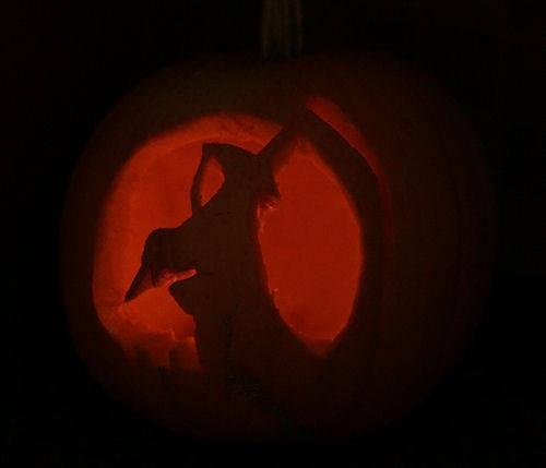 Grim Reaper Pumpkin Carving