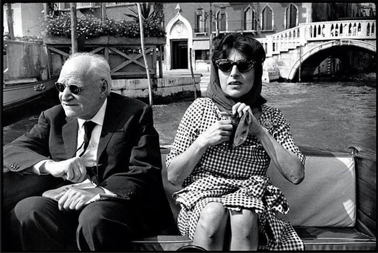 Giuseppe Ungaretti e Anna Magnani a Venezia