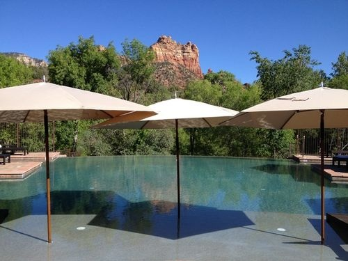 Amara Resort And Spa in Sedona offers resplendent views of the Red Rock! Rooms from $235 per night.