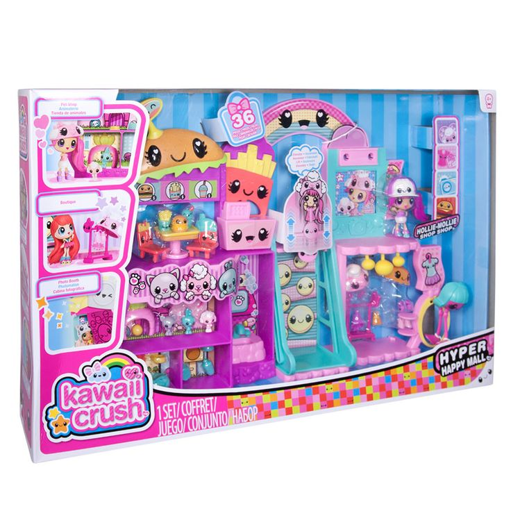 Kawaii Crush Mall Playset
