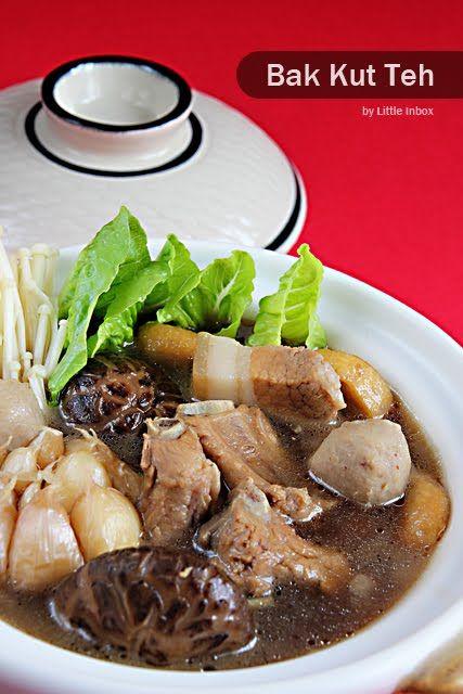 Little Inbox Recipe ~Eating Pleasure~: Bak Kut Teh (Pork Ribs Tea Soup) 肉骨茶