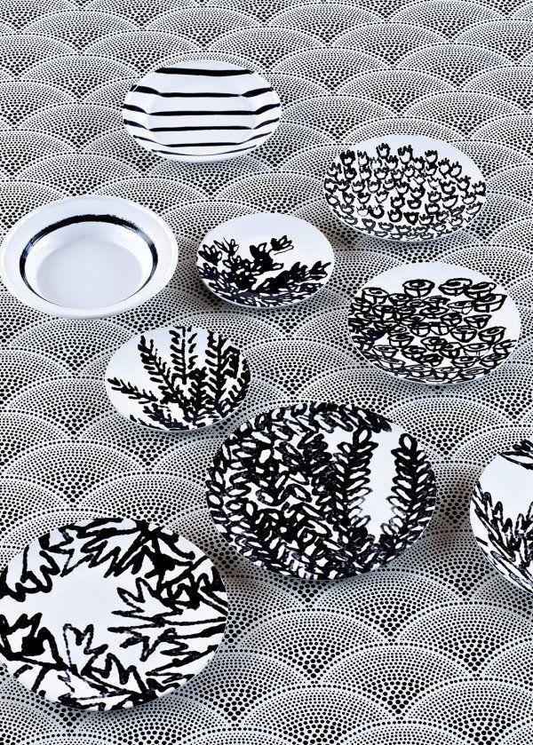 Une déco en noir et blanc autrement - Marie Claire Maison